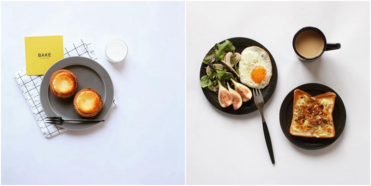 food photography tips from studies of people in Instagram